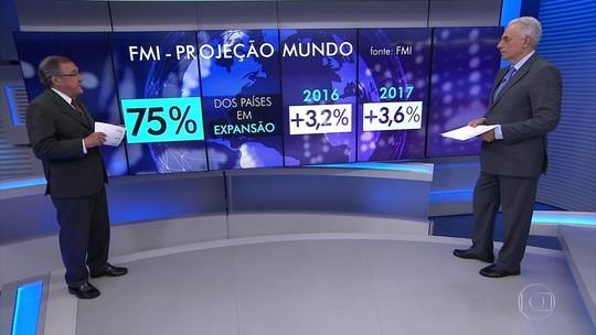 FMI melhora projeções para a economia brasileira