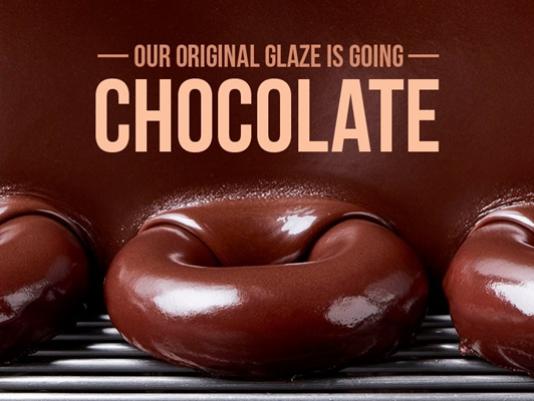 A rosquinha de chocolate mais esperada