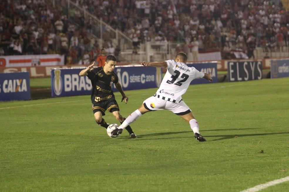 Pimentinha costuma jogar pela direita e tem o drible como principal característica — Foto: Raul Ramos/Ag. Botafogo/Divulgação