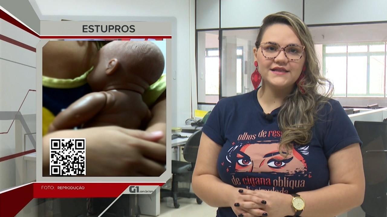 G1 em 1 Minuto - AC: Estupro de vulnerável em vítimas do sexo feminino no Acre reduz 38%