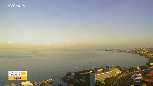 Previsão do tempo: Salvador e cidades do interior baiano têm sexta-feira ensolarada