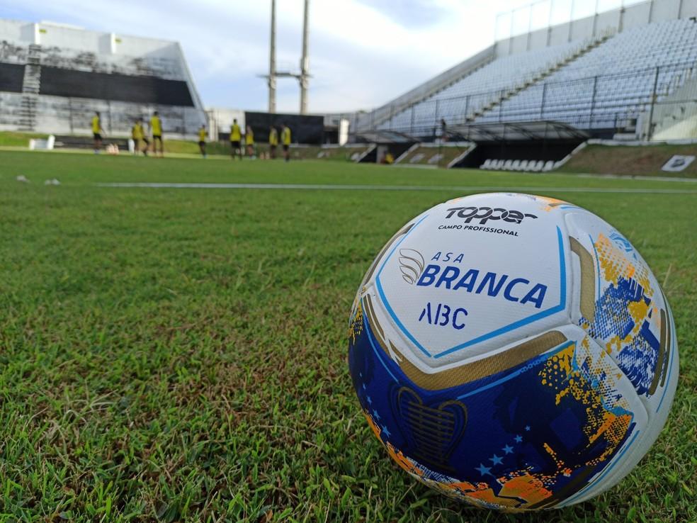 ABC e Sampaio Corrêa se enfrentam neste sábado, no Frasqueirão — Foto: Divulgação/ABC