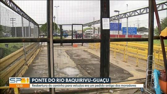 Ponte próxima ao Aeroporto de Guarulhos que liga rodovias seguirá fechada