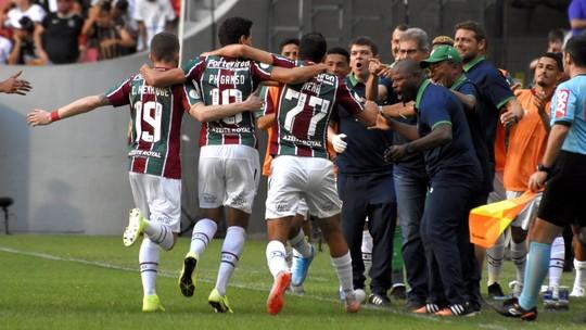 """Oswaldo de Oliveira vê resultado representativo para jogadores do Fluminense: """"Resgata a confiança"""""""