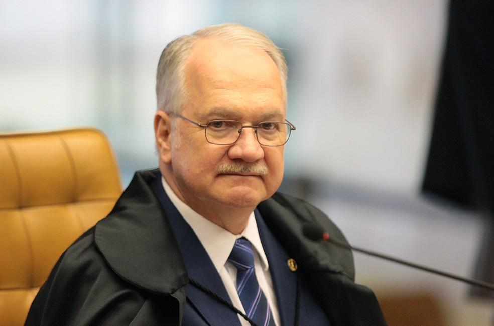 O ministro Edson Fachin, do STF (Foto: Carlos Moura/STF)