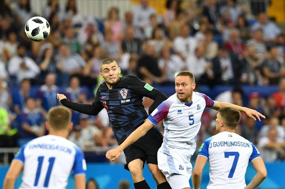 Kovacic participou, como reserva, da campanha que levou a Croácia à final da última Copa do Mundo (Foto: AFP)