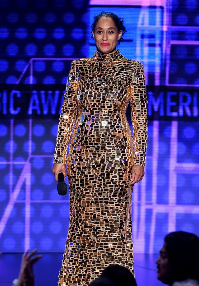 Tracee Ellis Ross veste CD Greene no AMA Awards (Foto: Getty Images)