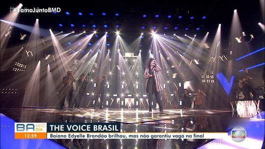 Cantora de Valença chega longe, mas não garante vaga na final do The Voice Brasil