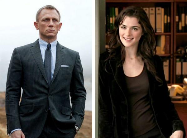 O ator Daniel Craig e a atriz Rachel Weisz (Foto: Reprodução)