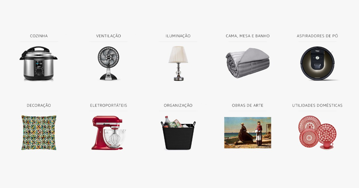 Produtos de todos os tipos, marcas e preços na Amazon.com.br (Foto: Divulgação)