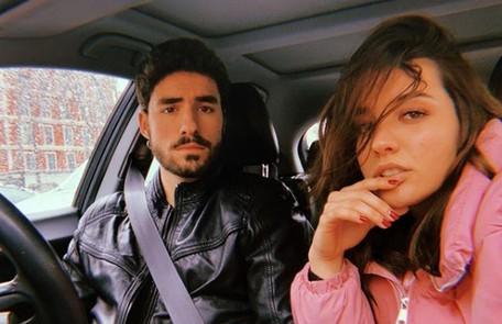 José namora a atriz portuguesa Bárbara Branco Reprodução Instagram