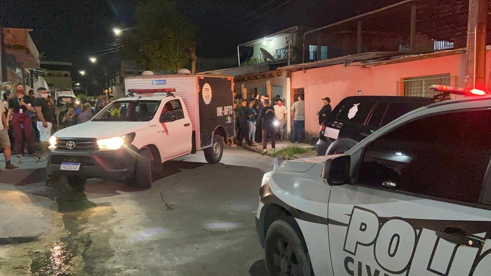Crime aconteceu no bairro Novo, Zona Leste de Manaus. — Foto: Patrick Marques/G1 AM