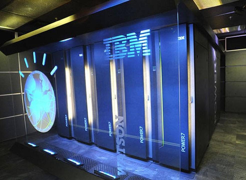 Watson, da IBM, é uma Inteligência Artificial que ganhou fama na televisão (Foto: Divulgação/IBM)