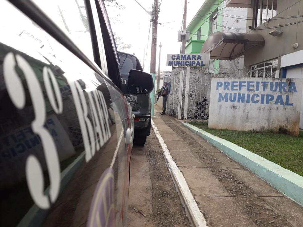 MP apontou irregularidades em contratos de concessão do transporte escolar — Foto: Edgar Rocha/TV Vanguarda