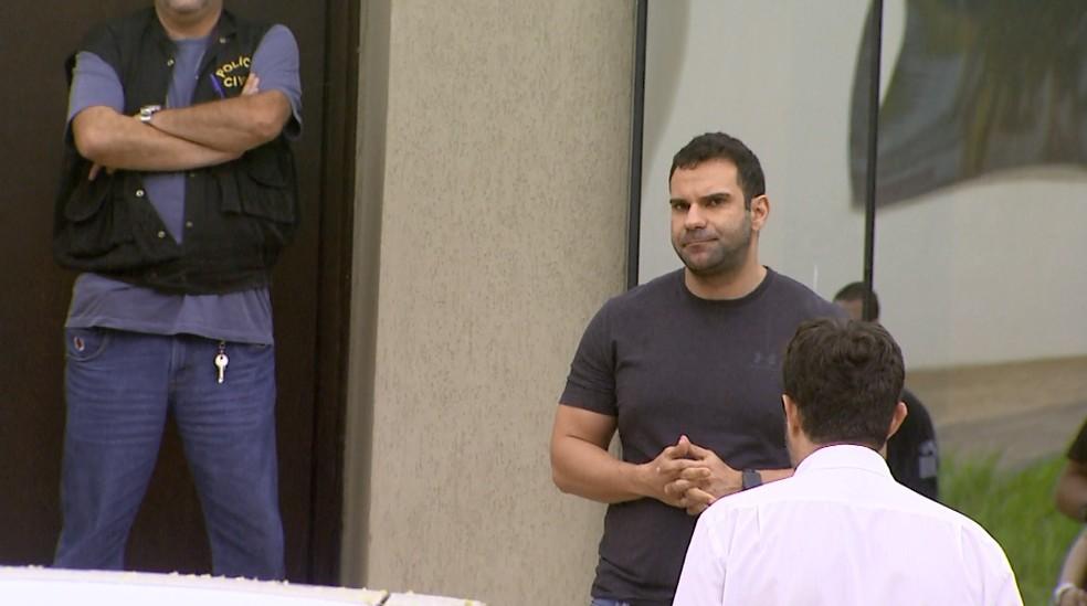 O advogado Renato Vidal, preso na Operação Têmis em Ribeirão Preto (Foto: Reprodução/EPTV)