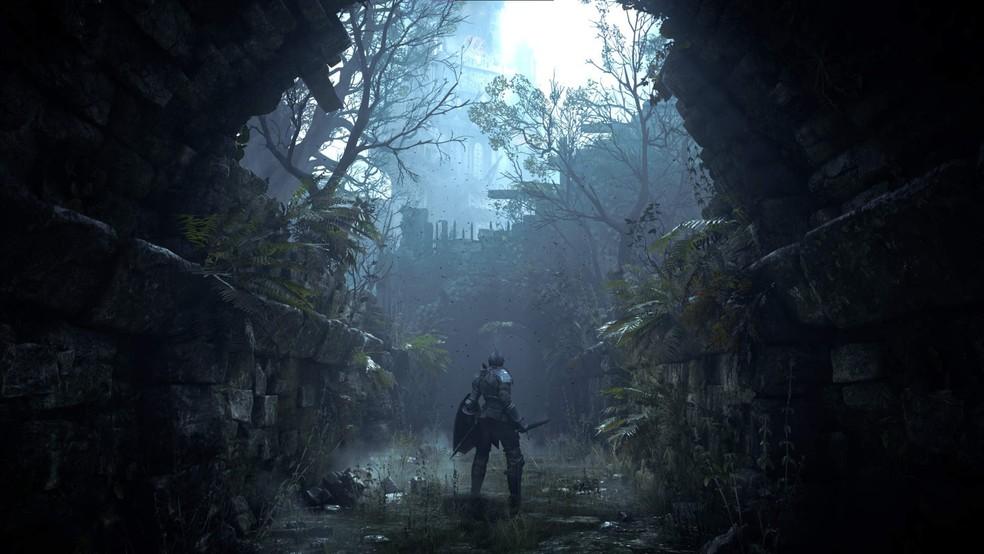 Demon's Souls foi uma das principais apostas para o lançamento do PS5 — Foto: Divulgação/PlayStation