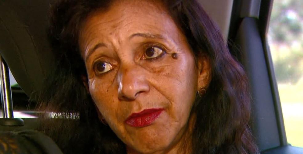 Odete viajou 200km, de Araraquara a Vinhedo, para reencontrar a irmã após 47 anos — Foto: Reprodução/EPTV