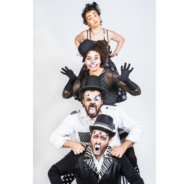 Banda Estralo: show d'Os Saltimbancos (Foto: Divulgação / Nina Jacobi / Flare)