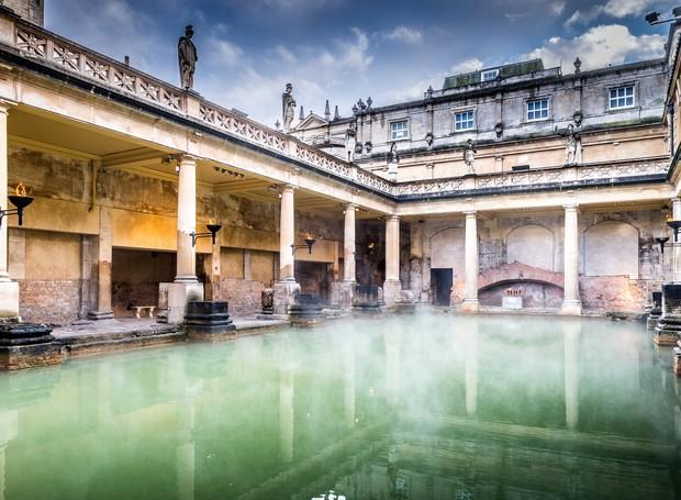 Roman Baths (Foto: Reprodução/Condé Nast Traveller)