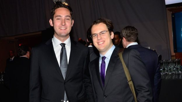 Kevin Systrom e Mike Krieger (Foto: Getty Images)