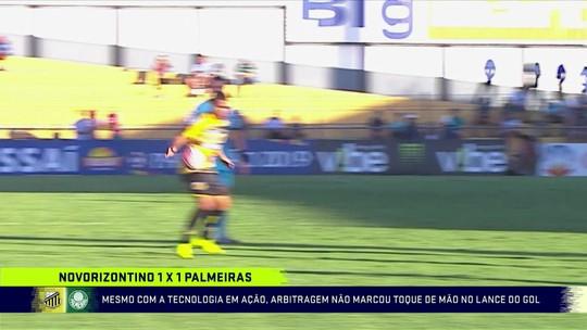 Polêmica no VAR: Gaciba admite ter impressões distintas de acordo com ângulo em gol contra o Palmeiras