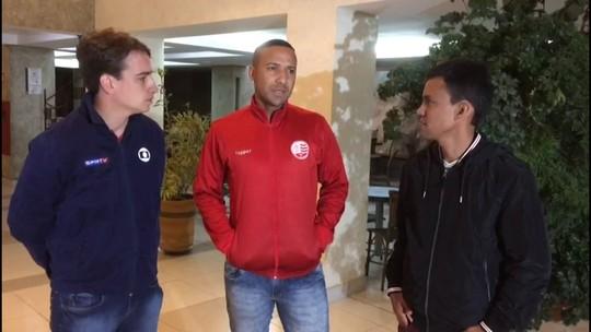 Em Atibaia, capitão Josa fala sobre ansiedade para decisão contra o Bragantino
