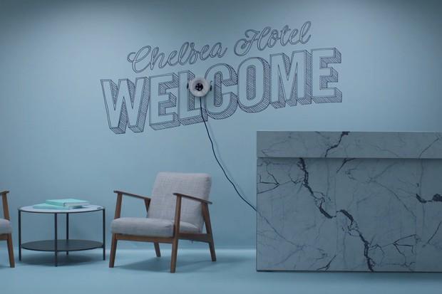Robô é capaz de fazer qualquer tipo de desenho em paredes e vidros (Foto: Divulgação)