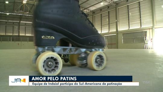 Equipe de Indaial participa do Sul-Americano de patinação artística
