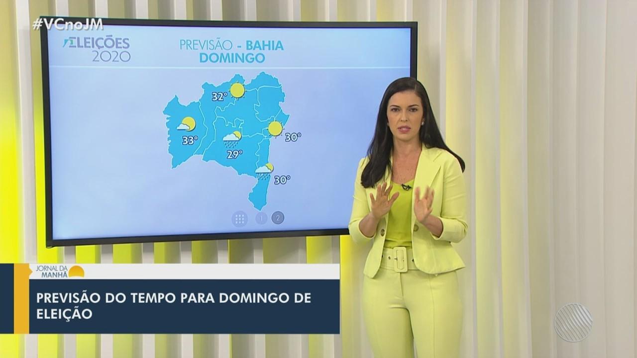 Veja a previsão do tempo para esta sexta-feira em Salvador e outras cidades baianas
