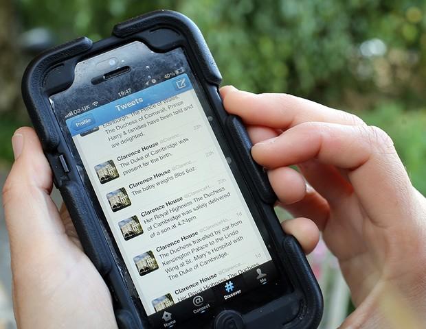 Twitter funciona como um diário pessoal (Foto: Getty Images)