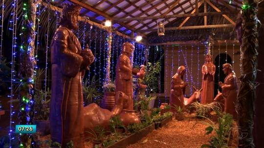 Com a chegada do natal, católicos de Maceió mantêm tradição e montam presépios