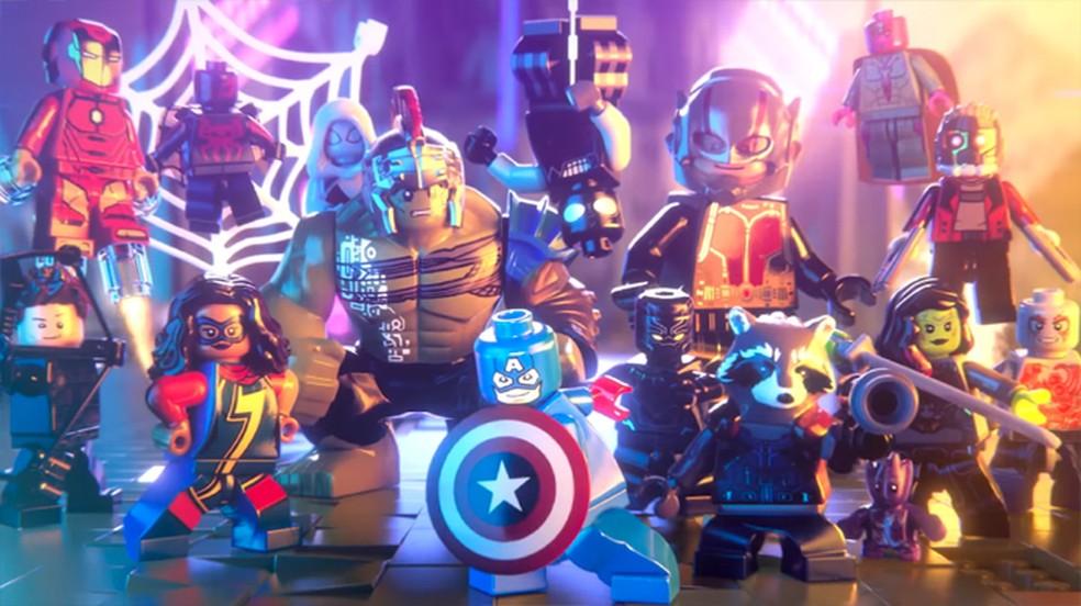 Lego Marvel Super Heroes 2 Mostra Novos Herois E Cidade De