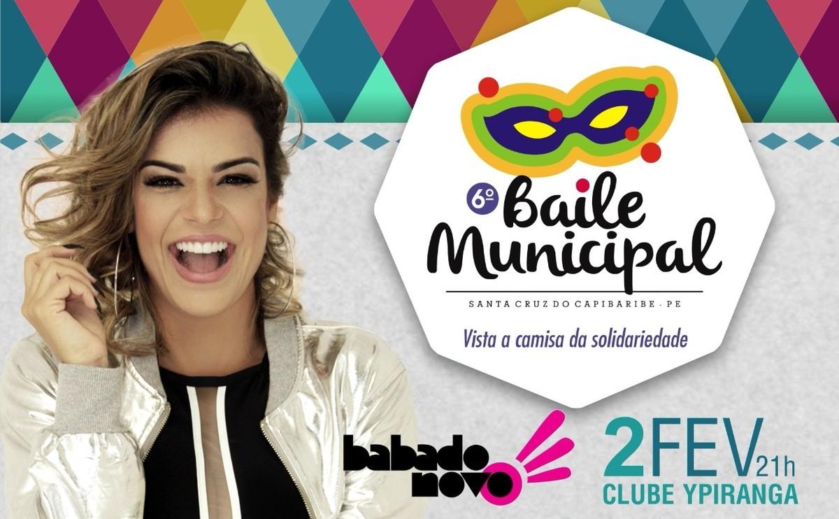 Baile Municipal tem show de Babado Novo em Santa Cruz do Capibaribe