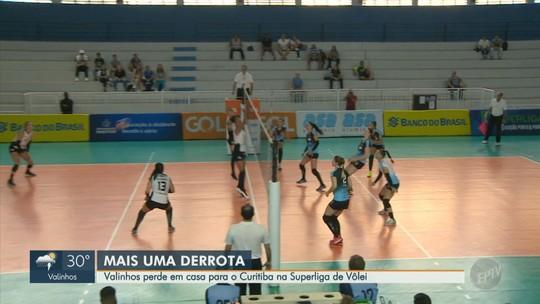 Curitiba passa fácil por Valinhos e vence a 1ª na Superliga feminina