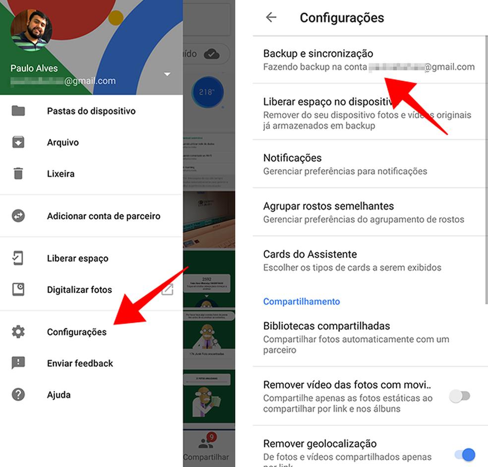 Logue com uma conta Google no Google Fotos (Foto: Reprodução/Paulo Alves)