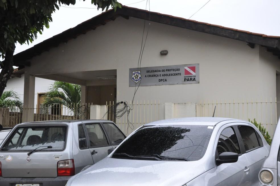 Delegacia de Atendimento à Criança e Adolescente em Santarém — Foto: Tracy Costa/G1