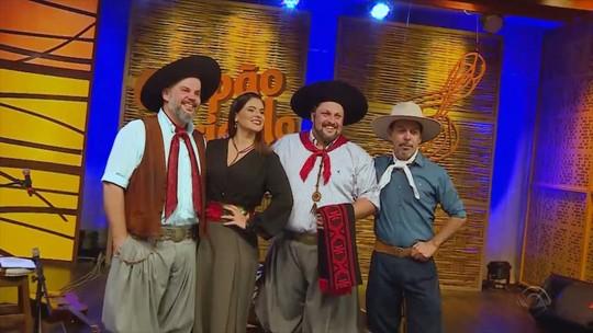 César Oliveira e Rogério Melo, Gustavo Brodinho e as soberanas da Fenadoce são atrações do 'Galpão Crioulo'