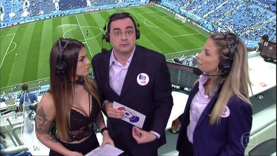 Cascadura Júnior faz cronica sobre sua participação no Central da Copa