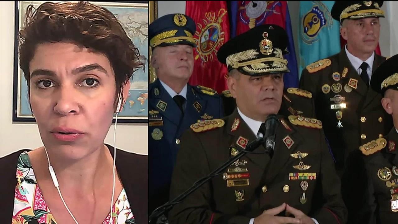 Ministro da Defesa da Venezuela acusa oposição de golpe