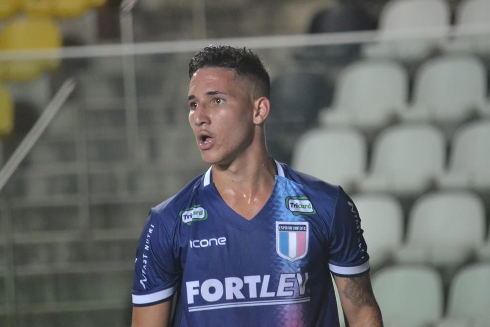 Atualmente o Espírito Santo veste a marca capixaba Icone, mas negocia com a Adidas para ser o novo fornecedor de material esportivo (Foto: João Brito/Espírito Santo FC)