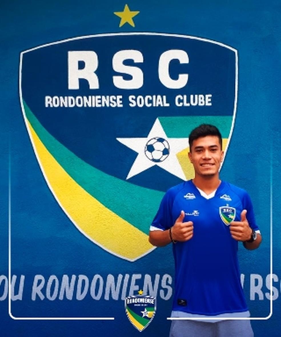 Rondoniense anuncia mais um reforço para o elenco 2019  50f1956849ddb