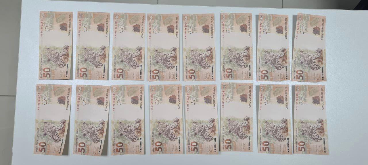 Polícia Federal apreende pacote com R$ 3 mil em cédulas falsas no Ceará; jovem foi preso em flagrante