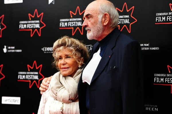 O ator Sean Connery e sua esposa, Micheline Roquebrune (Foto: Getty Images)