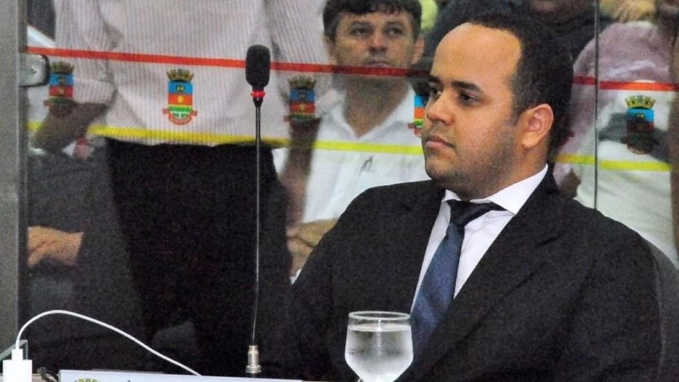 Vereador de Sobral tem mandado de prisão expedido pela Justiça por estelionato e crimes contra o patrimônio — Foto: Câmara de Sobral