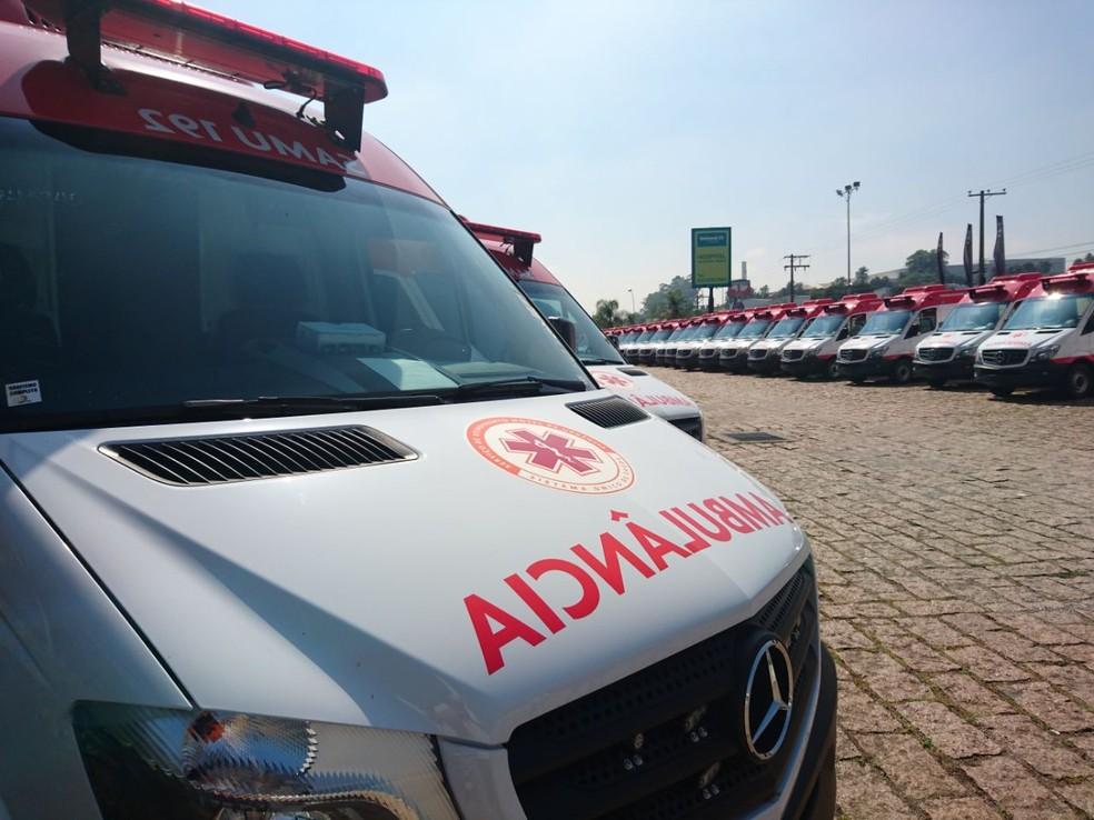Ambulâncias do Samu serão enviadas para todo o Brasil (Foto: Ana Carolina Levorato/G1)