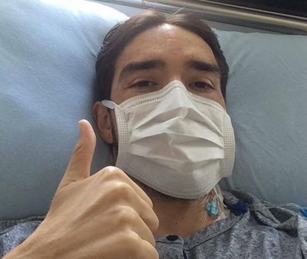 Paulo Júnior luta pela vida após recaída da leucemia (Foto: Reprodução)