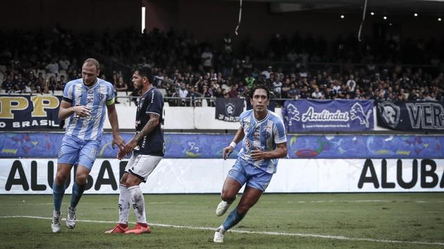 Nicolas fez o primeiro do Paysandu no jogo, seu terceiro no ano