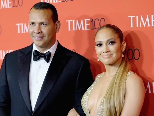 Jennifer Lopez e Alex Rodriguez (Foto: Getty Images)