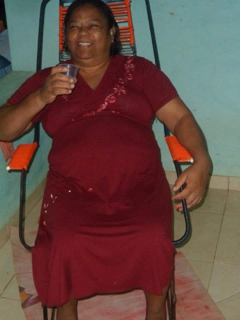 Benedita Quintino Duarte, 66 anos, também morreu com Covid-19 — Foto: Arquivo pessoal