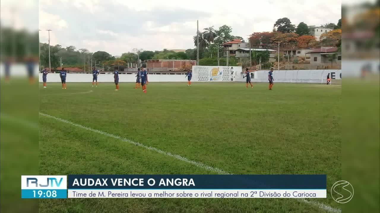 Audax/Miguel Pereira vence Angra dos Reis por 3 a 0 na abertura do segundo turno